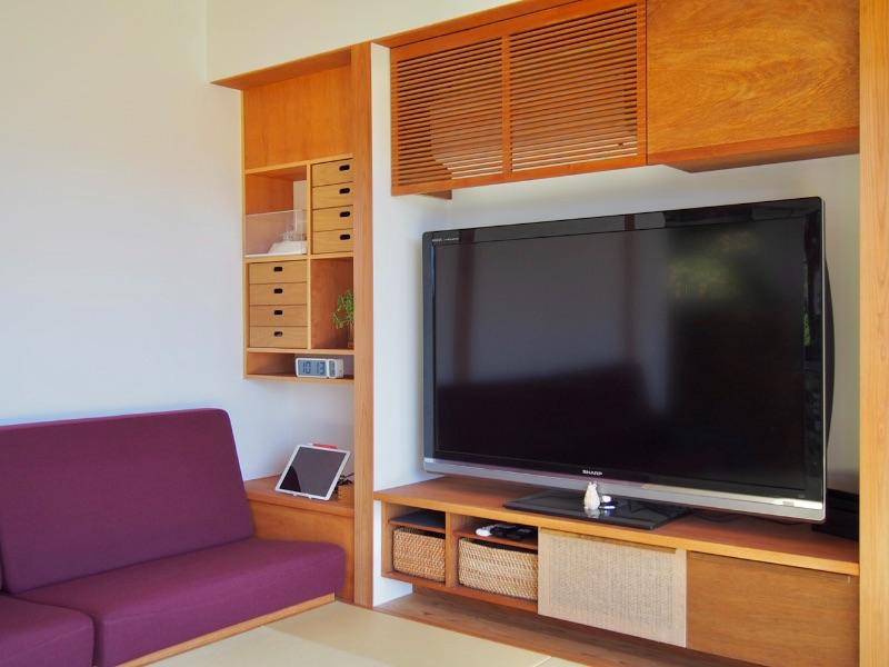 造作のテレビボード